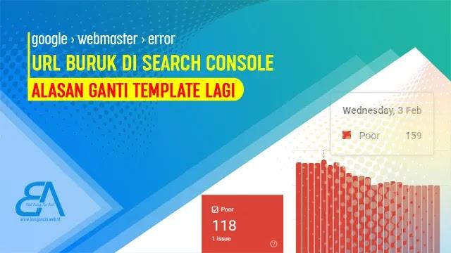Mengatasi Eror di Search Console