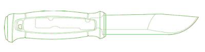 カンスボルのタング構造