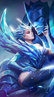 Aurora Queen of the North Heroes Mage of Skins V2