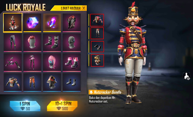 bundle diamond royale nutcracker