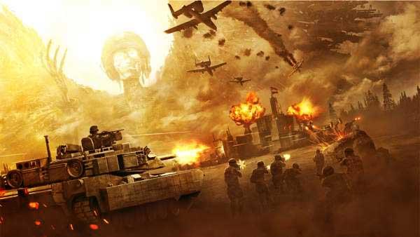 تحميل أفضل 5 ألعاب حرب أون لاين للكمبيوتر - ألعاب حربية مجانية