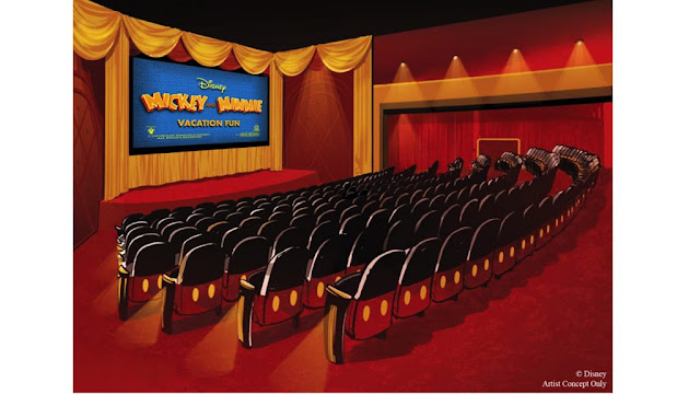 Mickey Shorts Theater Concept Art Disney's Hollywood Studios