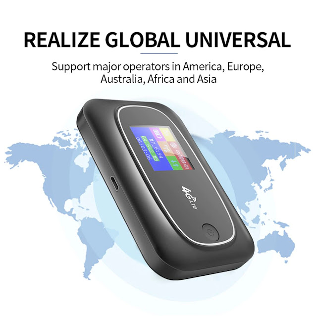 4G Router Wireless Wifi 4G LTE Routers Sim Card Router High Speed Shared Network With SIM Card&TF Card Slot