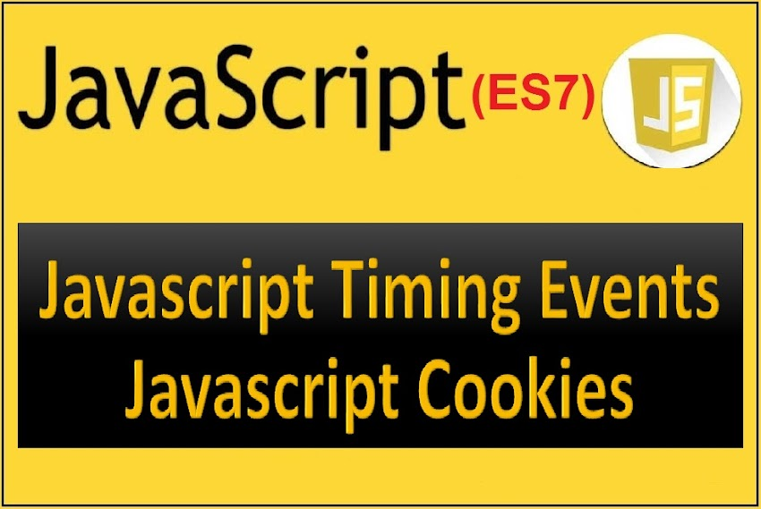 Javascript setTimeout and setInterval, What are cookies in javascript?