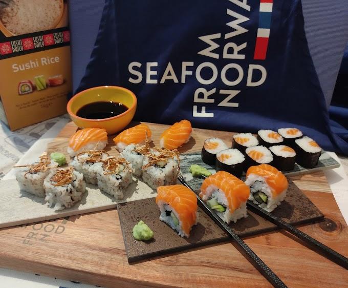Salmón noruego y sushi, una combinación perfecta