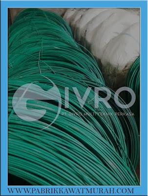 Jual Kawat BWG Bendrat PVC Hijau