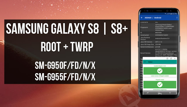 [ROOT] [TWRP] Recovery TWRP 3.1.0.1 & Root cho Galaxy S8 và S8+ (Exynos Chip)