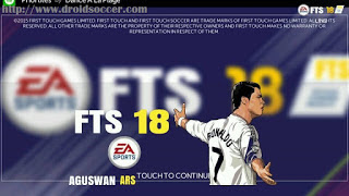 FTS 18 New Mod 2018 by Aguswan Apk Terbaru