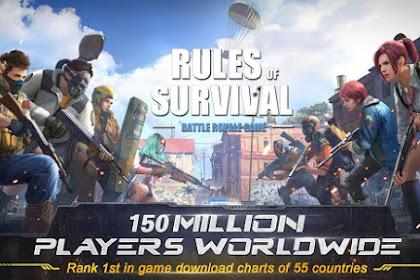 Cara Main Rules Of Survival Untuk Pemula Agar Mudah menang