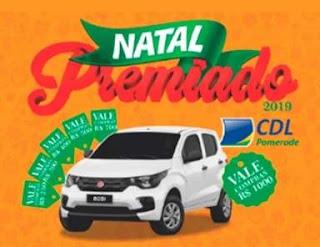 Promoção CDL Pomerode Natal 2019 Premiado - Carro 0KM e Vales-Compras