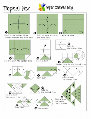 folding Diagram and instruction