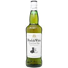 Black & White Blended Scotch Whisky (1 x 0,7 l)