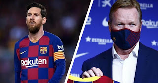 Koeman: Won't Be Able To Build Empire With Messi Existing In Dressing Room