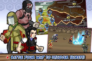 Download Ninja Saga APK - Free Game Android Role Playing