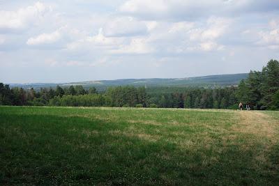 Krajobraz z Piasecznej Góry w kierunku Zwierzyńca