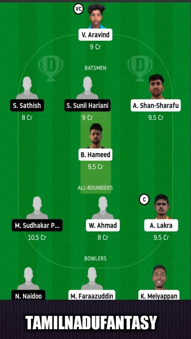 ECB Blues vs Abu Dhabi today dream 11 prediction
