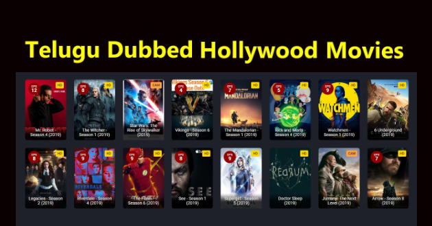 Telugu Dubbed Hollywood Movies Download List & Watch Online