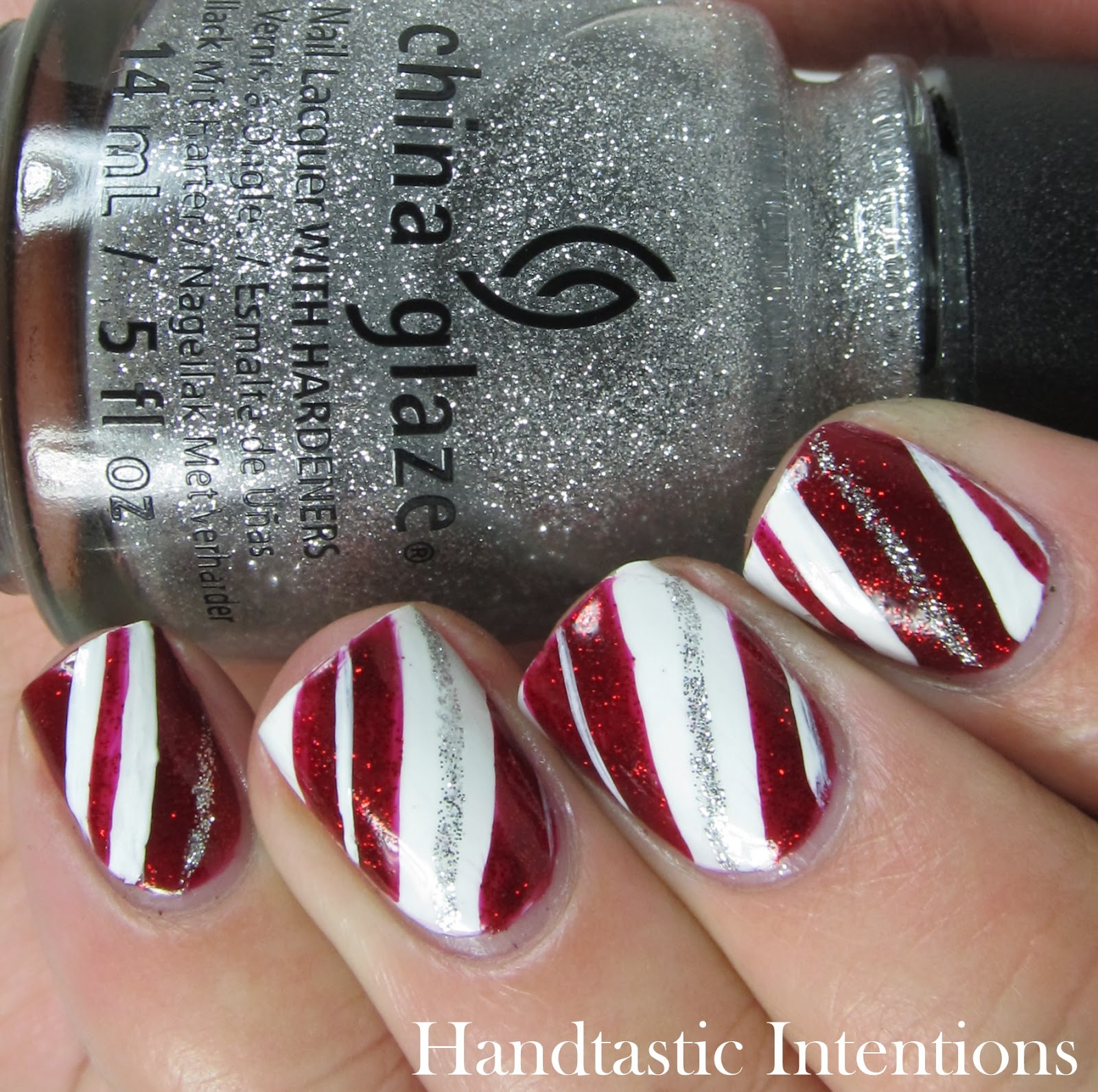 Handtastic Intentions: Christmas Nail Art: Christmas Tree ...