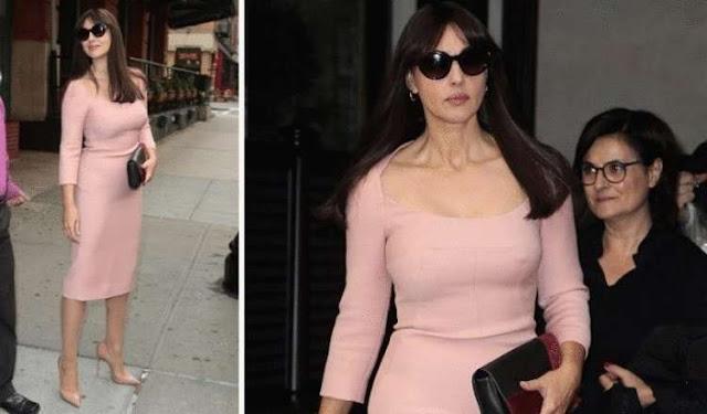 Прекрасная Моника Беллуччи ломает все стереотипы о «подобающей возрасту» одежде