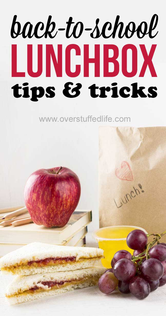 Make it easy for your kids to pack HEALTHY LUNCHES this school year! These tips and tricks will keep you more ORGANIZED and packing lunches will not be something to dread anymore!