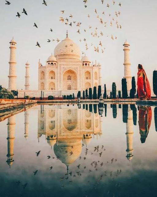 Tac Mahal/Hindistan-Agra