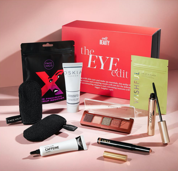 Cult Beauty The Eye Edit Box Available Now