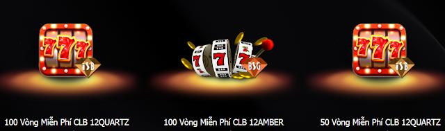 12Vip: Combo quà tặng đạt điểm thưởng quà Vong%2Bquay%2Bmien%2Bphi