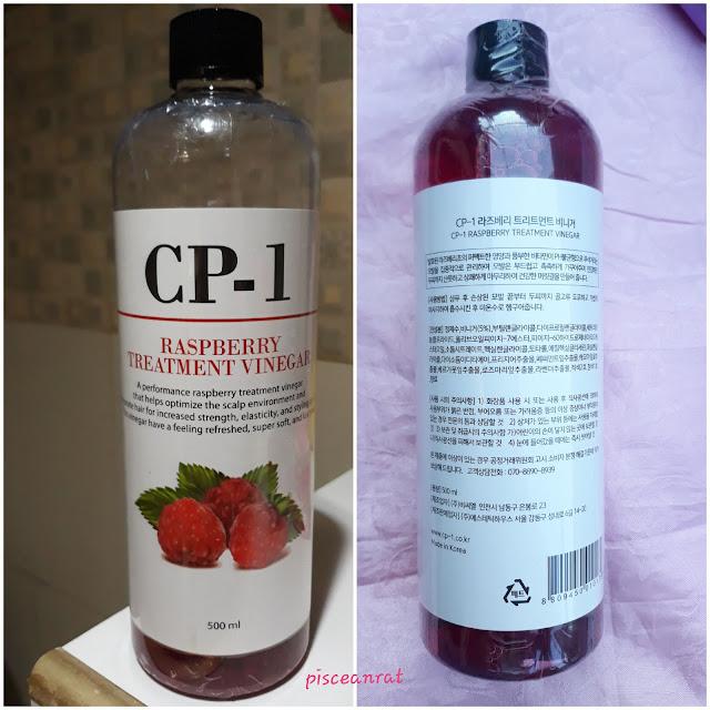 CP-1 Raspberry Treatment Vinegar 500ml/ Php 350