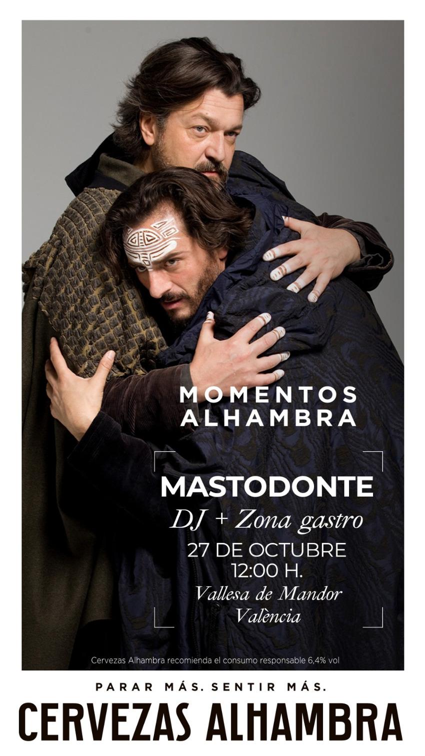 """""""Momentos Alhambra"""" llega a València con el concierto de Mastondonte"""