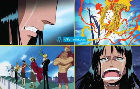 Moment Paling Memorable di Anime One Piece - Misi menyelamatkan Nico Robin