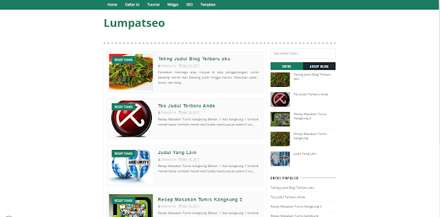 LumpatSEO - A Responsive