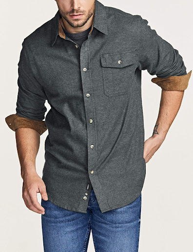 Best Solid Flannel Shirts For Men