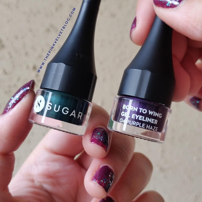 SUGAR Born to Wing Gel Eyeliner - Review and Swatches (All 5 Shades)