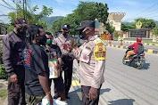Mahasiswa Galang Dana Peduli Pengungsi Intan Jaya, Polisi Bubarkan secara Paksa.