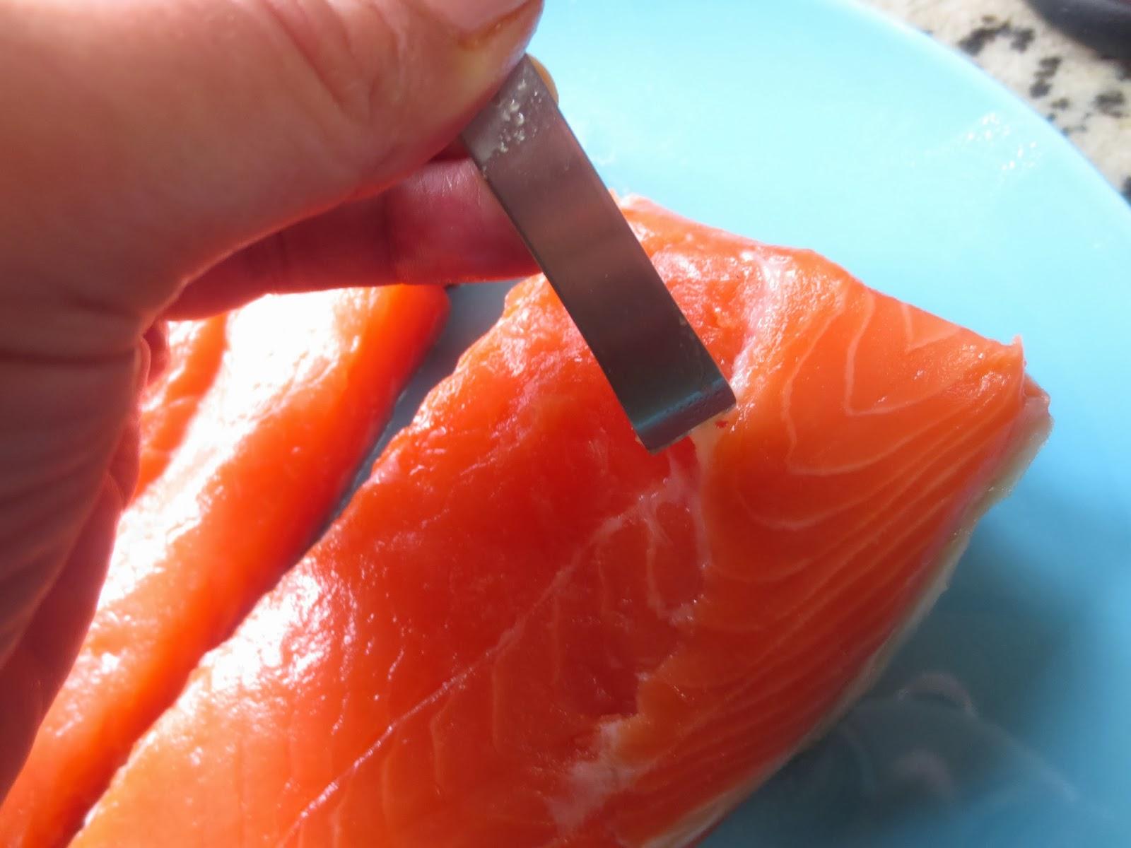 Albóndigas de salmón al eneldo olla GM