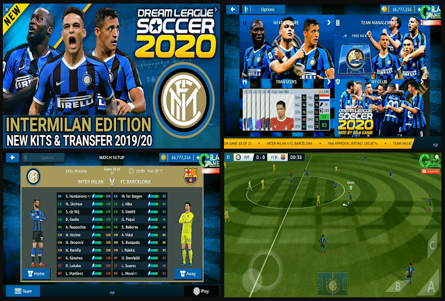 Download DLS Mod Inter Milan V6.11