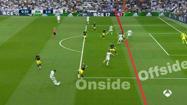Belajar Aturan Offside Dari Gol Ronaldo Ke Gawang Atletico Madrid Arya Licek