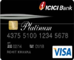 Icici platinum forex card login