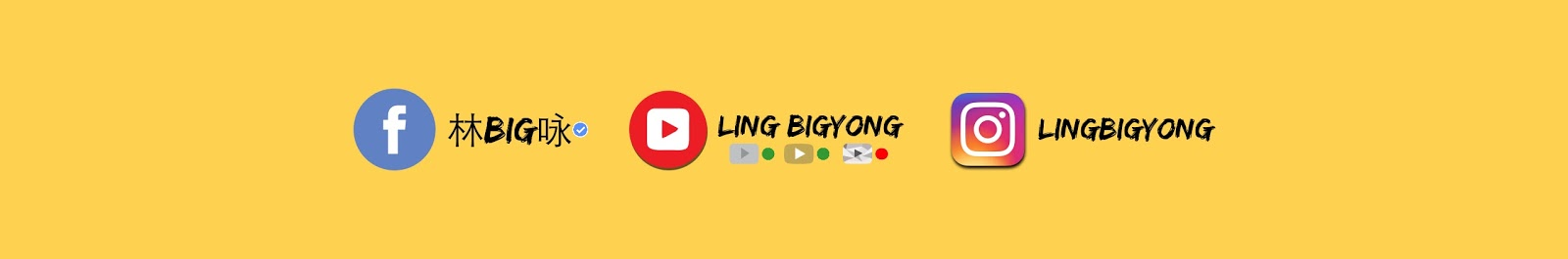 Ling BigYong YouTube Channel