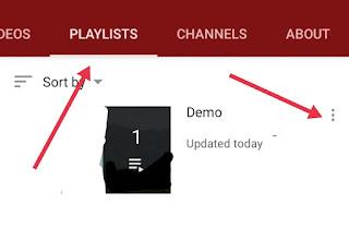 YouTube Playlist Delete Kaise Kare