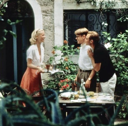 The Talented Mr. Ripley film still Outside in Italy