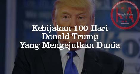 Kejamnya Program 100 Hari Donald Trump