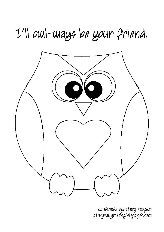 Printable owl template for kids photo 4