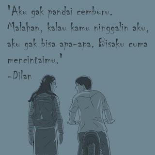 quotes kata romantis rayuan dilan