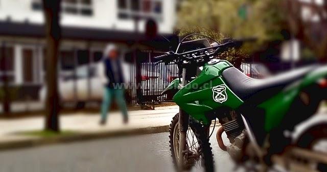 Carabineros motorizados de Osorno