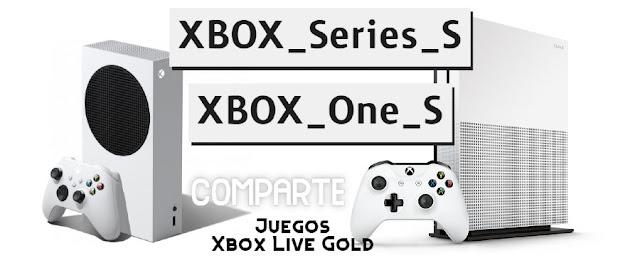 Compartir juegos entre Xbox One S y Series S X