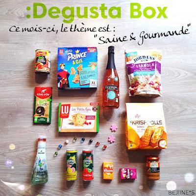 """Unboxing DegustaBox Septembre """"Saine et Gourmande"""""""