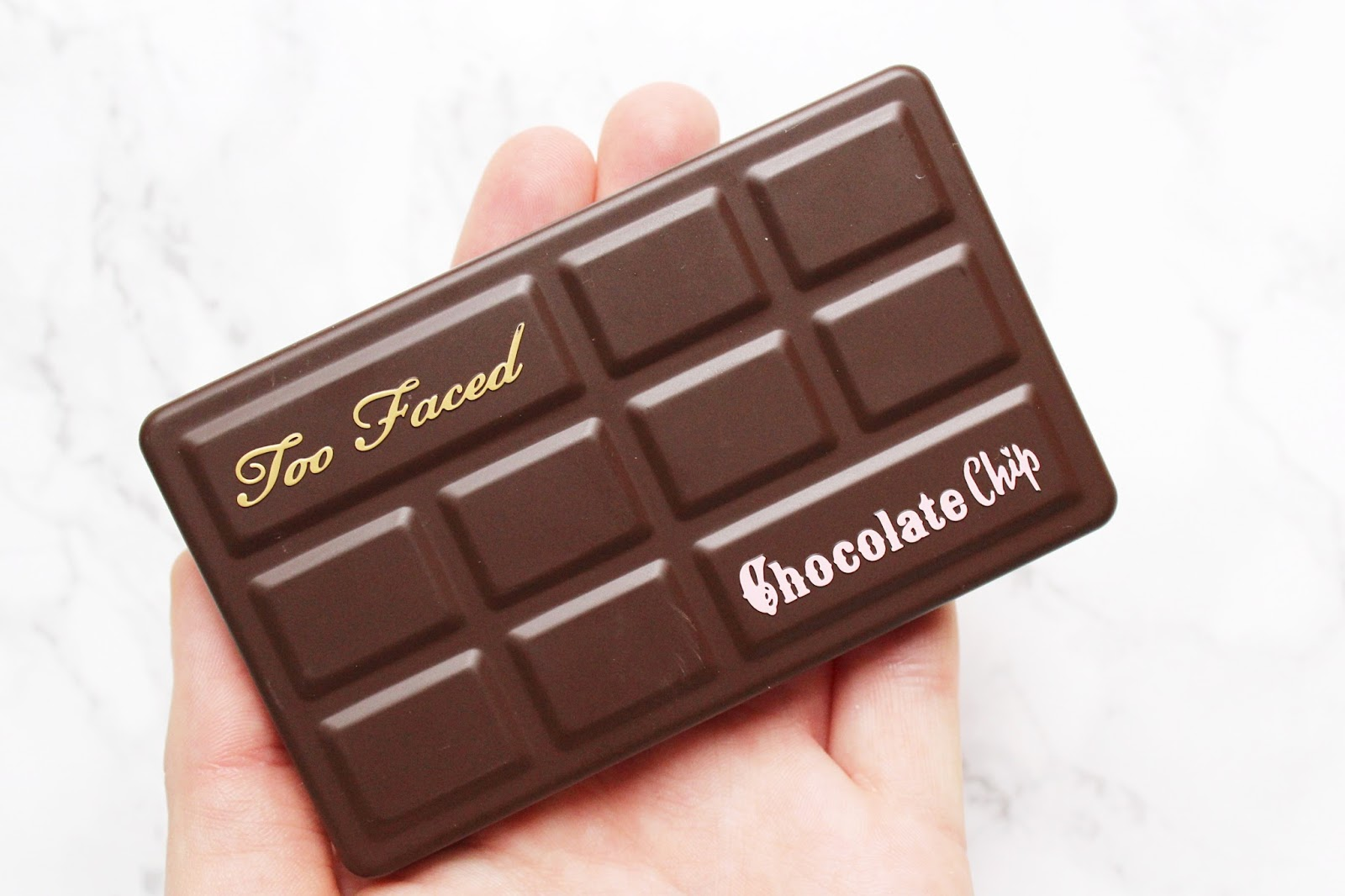 Too Faced Matte Chocolate Chip Palette Review with Swatches
