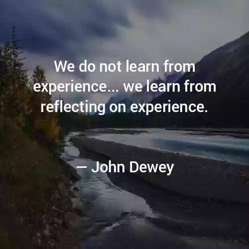 John Dewey inspirational Quotes