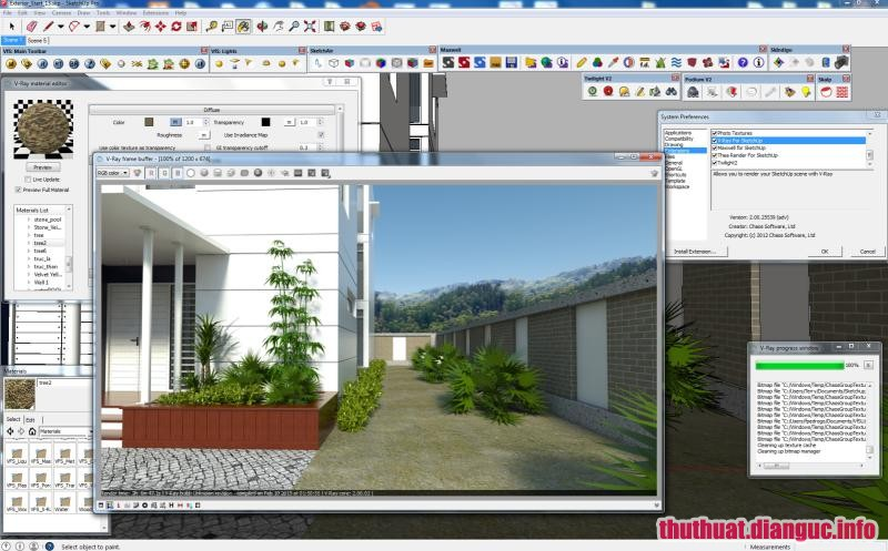 Download VRay Next 4.00.02 for SketchUp 2015/2016/2017/2018/2019 Full Cr@ck